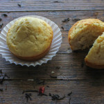 Rose tea muffins
