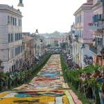 Festival season: Infiorata