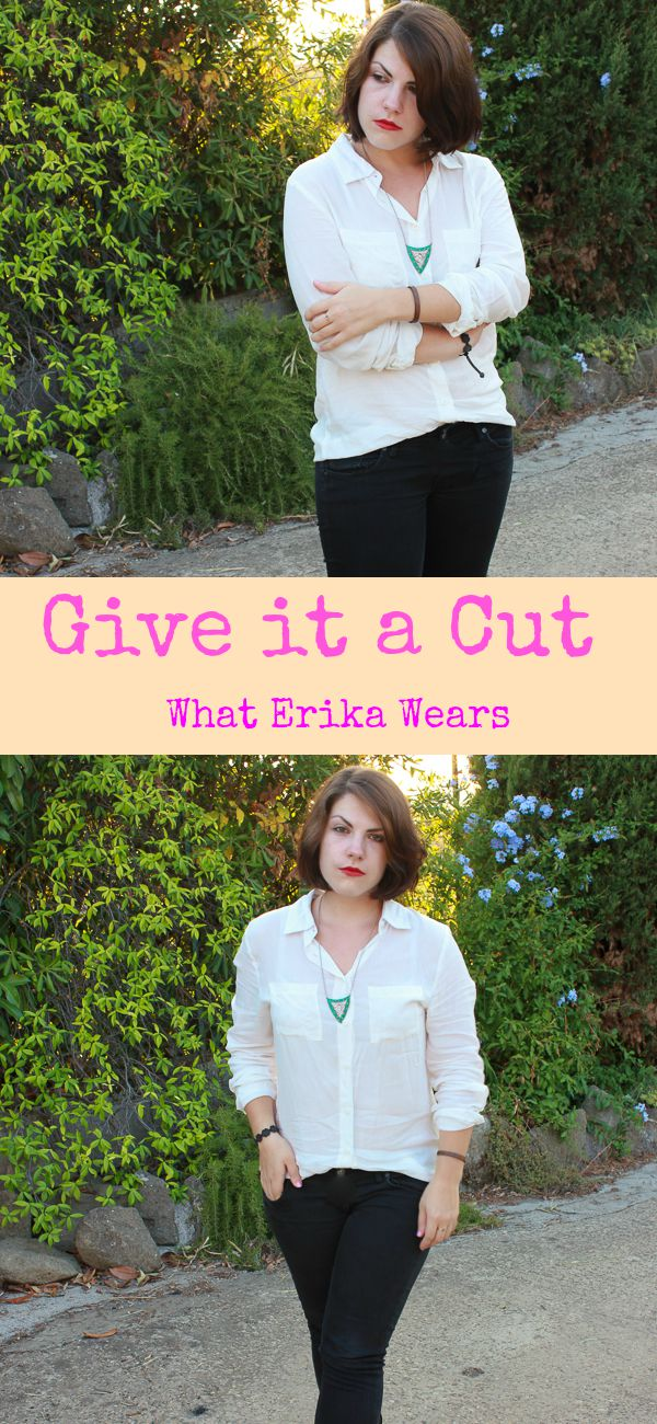 I have some news with today's OOTD! GIve it a cut./ Whaterikawears.com