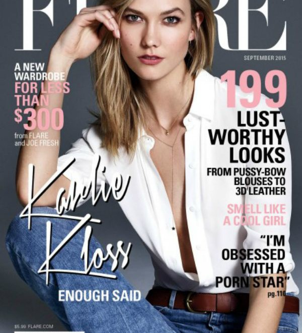 Karlie Kloss is FLARE magazine's September Cover Star