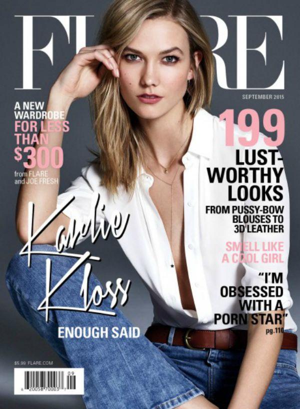 Karlie Kloss is FLARE magazine's September Cover Star