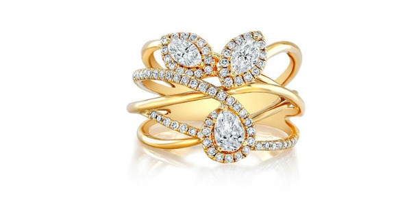 Four of the most unique wedding engagement rings