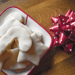 Christmas cookies: Shortbread