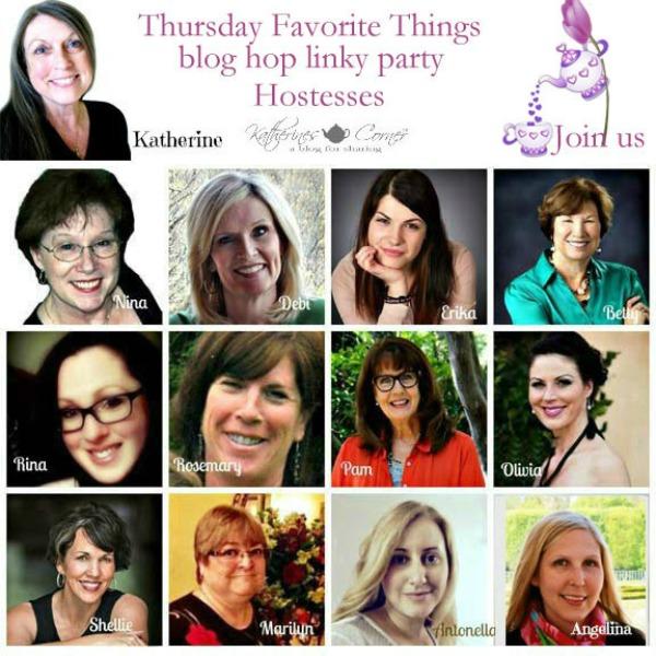 thursday Favorite Things blog hop hostesses best 2016