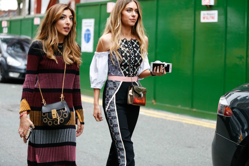 London Fashion Week's Street Style