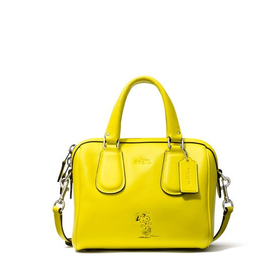 Snoopy and Coach bag