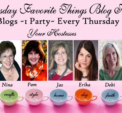 Thursday Favorite Things Blog Hop #185