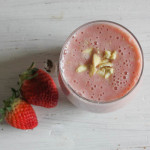 Lactose-free Strawberry & Banana Smoothie