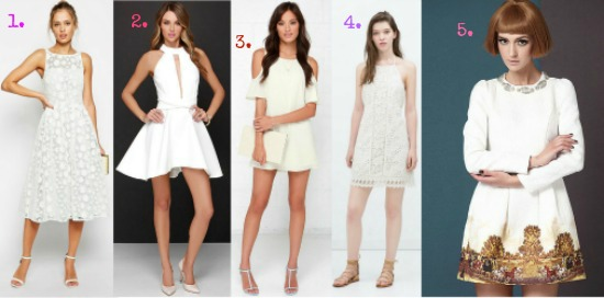 a808cb54ffb8 The best white dresses for Summer