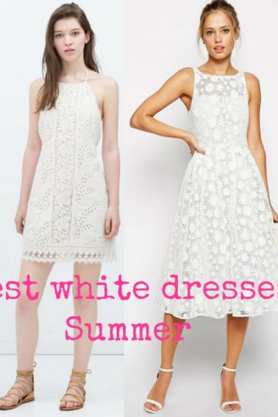 The best white dresses for Summer