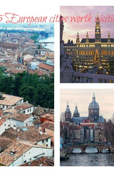 Five European cities worth visiting