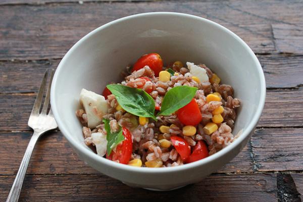 Best Summer Spelt Salad