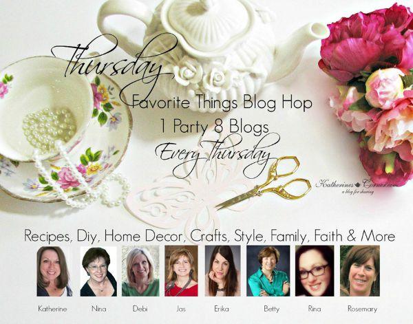 Thursday Favorite Things blog hop hostesses