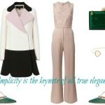 Simplicity is the keynote of all true elegance