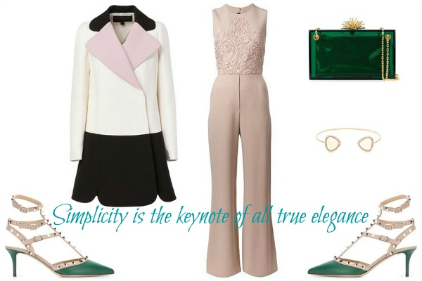 Simplicity is the keynote of all true elegance