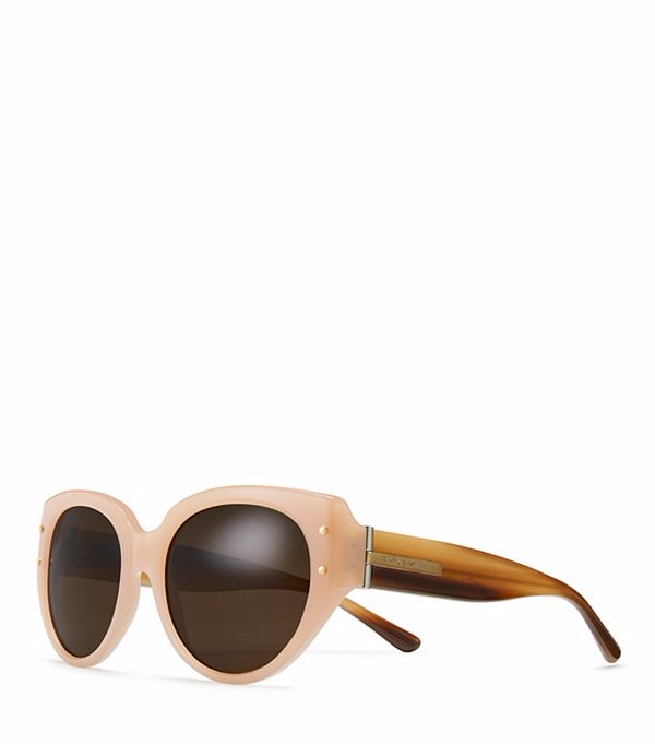 TOGGLE-HINGE CAT-EYE SUNGLASSES