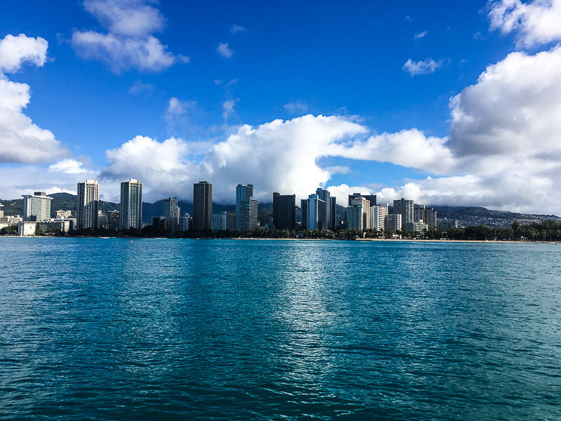 January in Honolulu