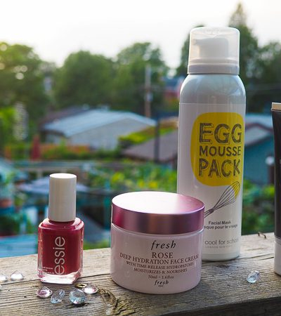 September: Beauty products I'm using this month