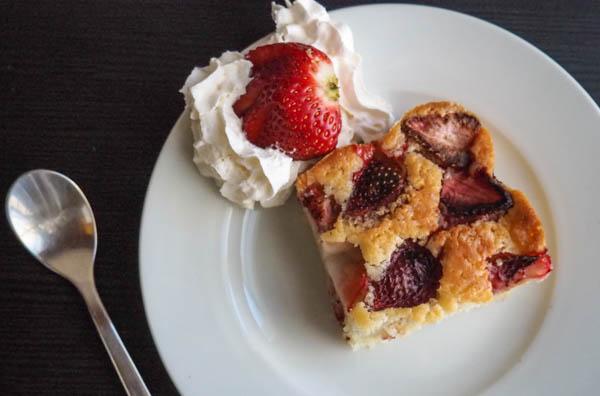 Dairy-Free Strawberry cake