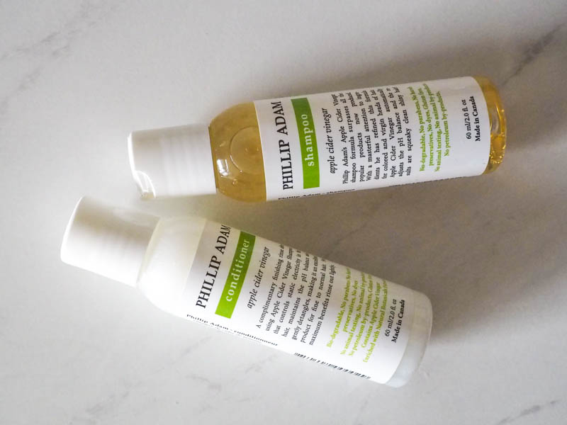 Natural Hair shampoo and conditioner: Phillip Adam